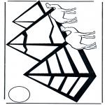 Disegni da colorare Vari temi - Piramidi