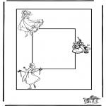 Lavori manuali - Portaritratti Cenerentola
