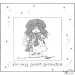 Lavori manuali - Portaritratti per il nonno