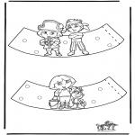Lavori manuali - Portauovo Dora
