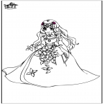Disegni da colorare Vari temi - Principessa 8