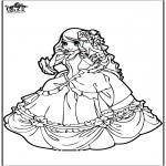 Disegni da colorare Vari temi - Principessa 9