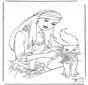 Principessa con gatto