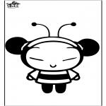 Personaggi di fumetti - Pucca l'ape