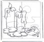Puzzle candele