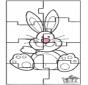 Puzzle della lepre di Pasqua 3