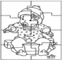 Puzzle di bambino