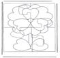 Puzzle fiore