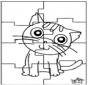 Puzzle gatto