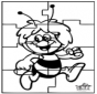 Puzzle - L'ape Maia