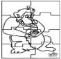Puzzle - scimmia