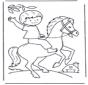 Ragazzino a cavallo