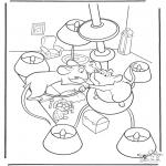 Personaggi di fumetti - Ratatouille 8