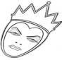 Regina arrabbiata