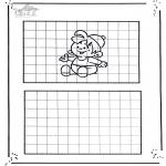 Lavori manuali - Ricopia il disegno