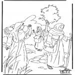 Disegni biblici da colorare - Ruth 1