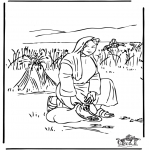 Disegni biblici da colorare - Ruth 2