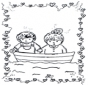 Saint-Valentin - bateau