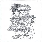 Disegni da colorare Temi - San Valentino 1