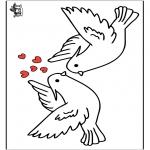 Disegni da colorare Temi - San Valentino 16