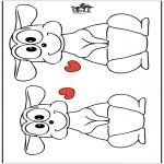 Disegni da colorare Temi - San Valentino 19