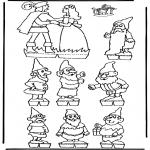 Lavori manuali - Scatola delle immagini Biancaneve