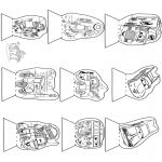 Lavori manuali - Scatola delle immagini Cars