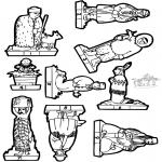 Lavori manuali - Scatola delle immagini presepe 1