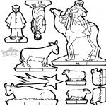 Lavori manuali - Scatola delle immagini presepe 2