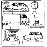 Lavori manuali - Scatola delle immagini Traffico