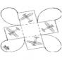 Scatolina per regali - Aeroplano