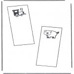 Lavori manuali - Segnalibro 1