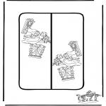 Lavori manuali - Segnalibro Alice