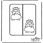 Disegni da colorare Vari temi - Segnalibro principessa