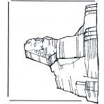 Disegni da colorare Vari temi - Sfinge
