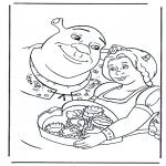 Personaggi di fumetti - Shrek 2