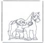 Spazzola il cavallo