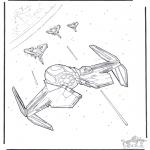 Disegni da colorare Vari temi - Star Wars 11