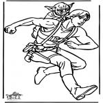 Disegni da colorare Vari temi - Star Wars 16