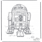 Disegni da colorare Vari temi - Star Wars 3