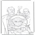 Disegni da colorare Vari temi - Star Wars 5