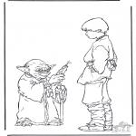Disegni da colorare Vari temi - Star Wars 7
