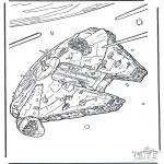 Disegni da colorare Vari temi - Star Wars 8