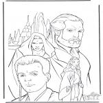 Disegni da colorare Vari temi - Star Wars 9