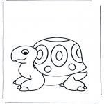 Disegni da colorare Animali - Tartaruga