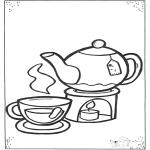 Disegni per i piccini - Tazza di tè