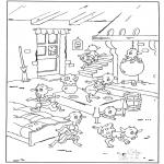Disegni da colorare Vari temi - The Seven Young Kids