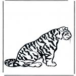 Disegni da colorare Animali - Tigre 2