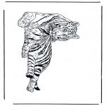 Disegni da colorare Animali - Tigre