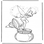 Personaggi di fumetti - Tinkerbell 1